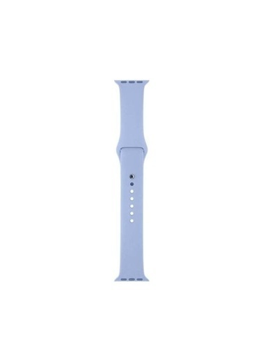 Apple Apple Watch Sport Band Lila Silikon Saat Kordonu 38-40 Mm Renkli